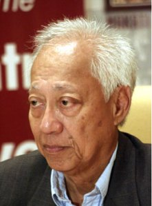 Former COMELEC Chairman Christian Monsod