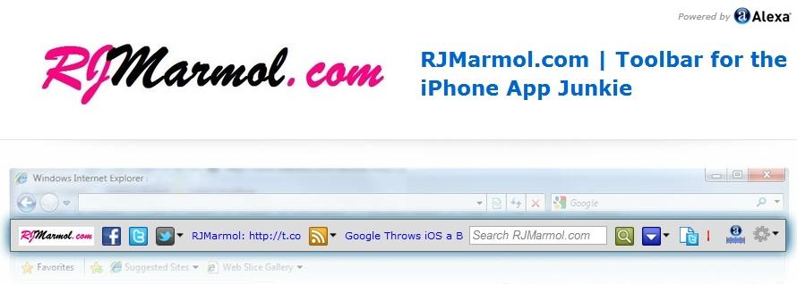 RJMarmol Toolbar