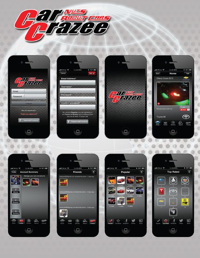 Car Crazee App Snaps