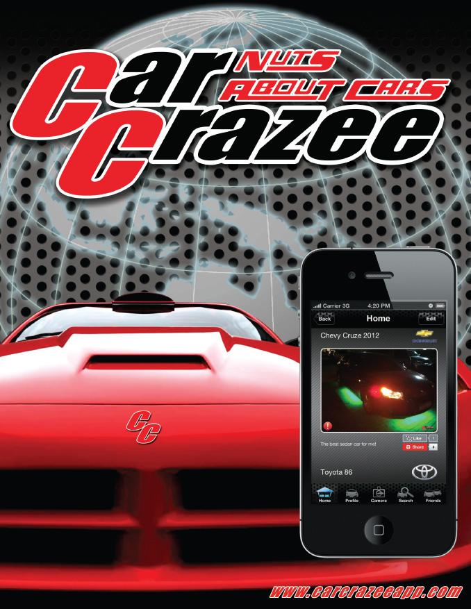 Car Crazee iOS app