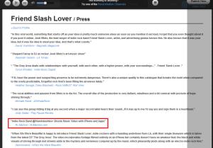 Friend Slash Luvr