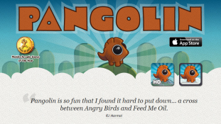 Pangolin iPhone game by Feedtank