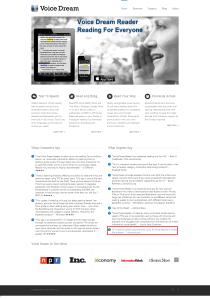 Voice Dream  Text To Speech App - Website link